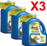 ROUNDUP QUIKPRO 6.8lbs Weed Killer 6.8 Pounds 3 Jugs + Free Shipping!