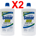SONAR RTU 32oz (X2) Duckweed & Pond Weed Control - Ready to Pour + Free Ship