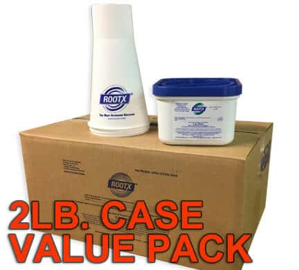 Case of RootX 2 Lb. Containers Value Pack