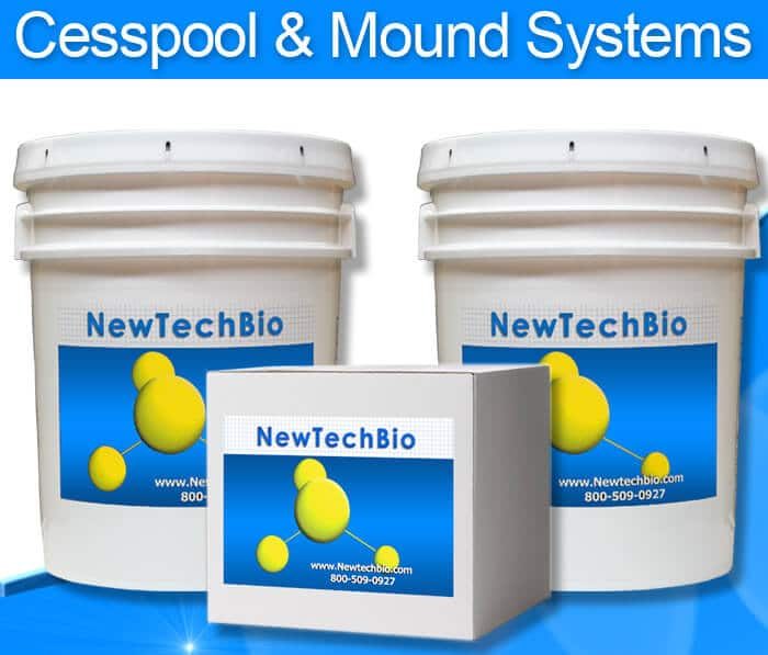 NT-MAX Septic Shock Treatment for cesspools, cesspits, drywells, sand mounds and seepage pits.